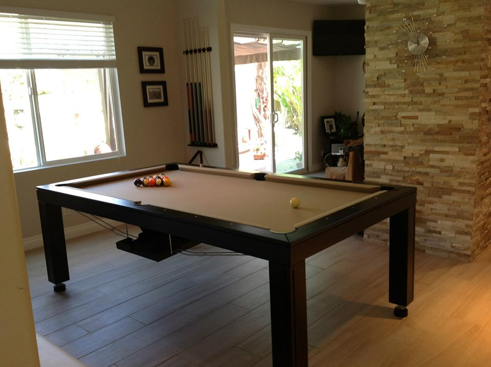 Convertible Hollywood Pool Tables Dining Room Pool Tables Conversions