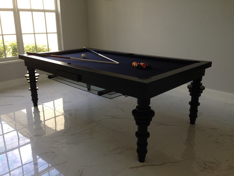 Contemporary Convertible Pool Tables - Dining Room Pool Tables by ...