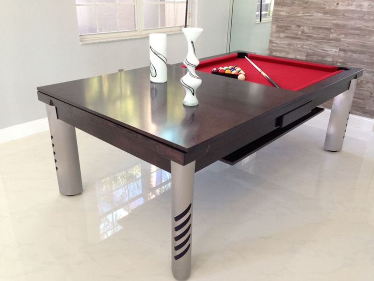 Beaautiful Convertible Pool Tables - Dining Room Pool Tables by ...