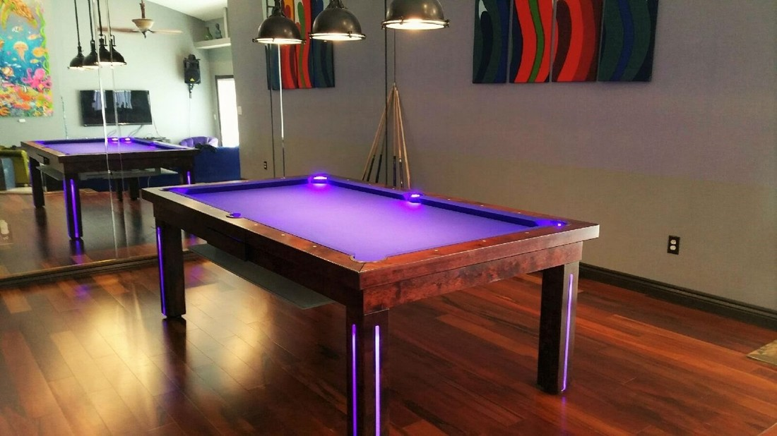 NEON Dining Pool Table