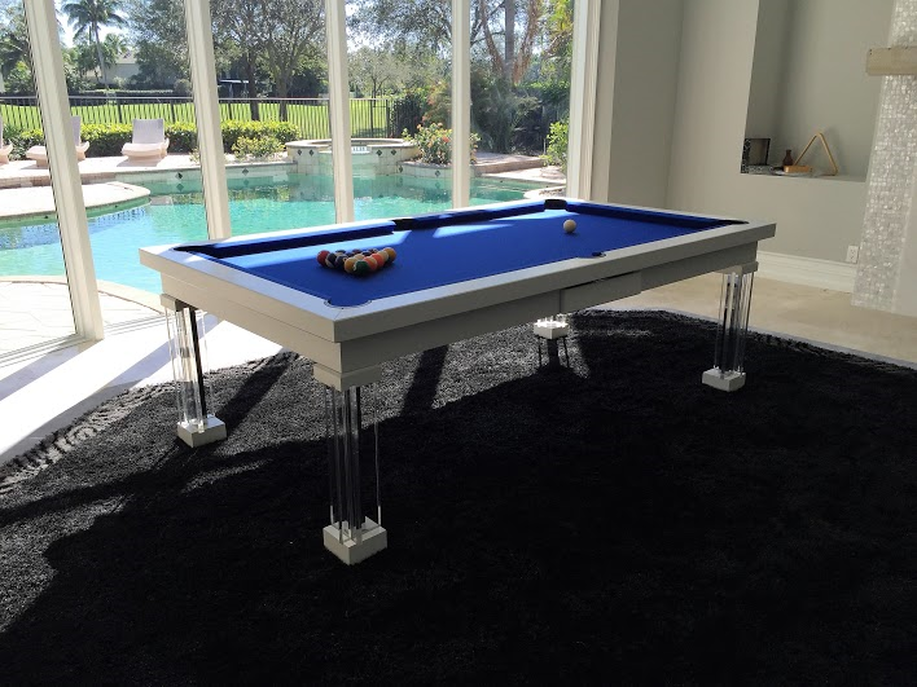 Pool Side Pool Table