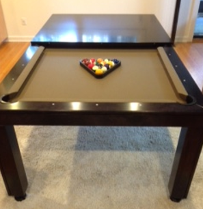 Colors Convertible Pool Tables Luxury Dining