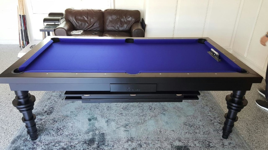 Convertible Hollywood Pool Tables Dining Room Pool Tables By - Pool table painting