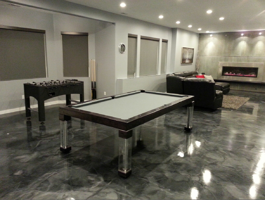 Steel Gameroom Pool Tables