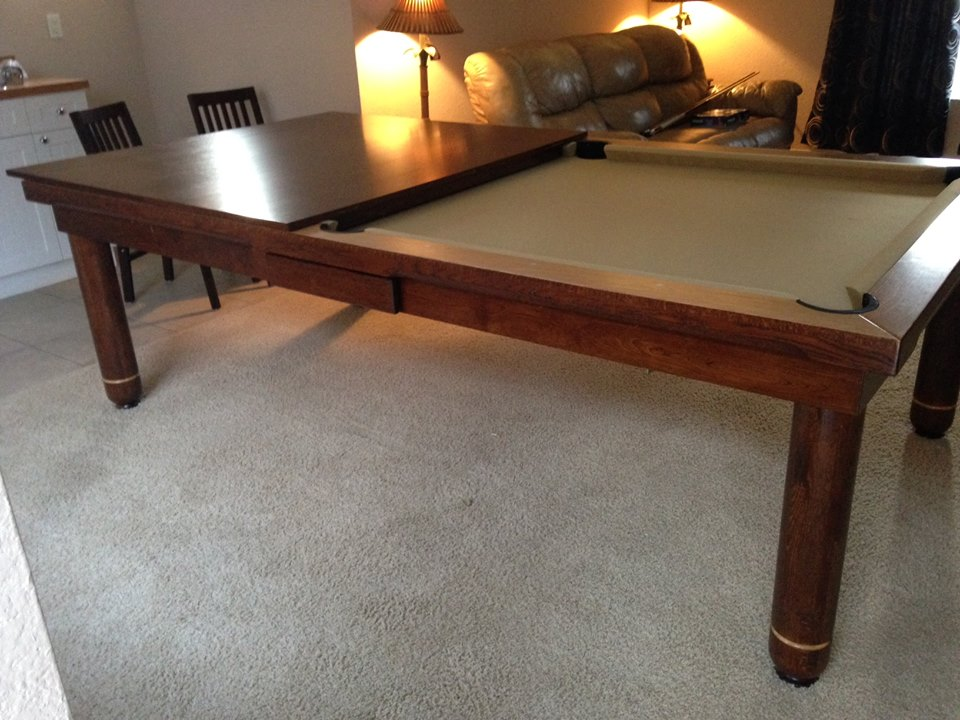 pool table dining room for sale combination top