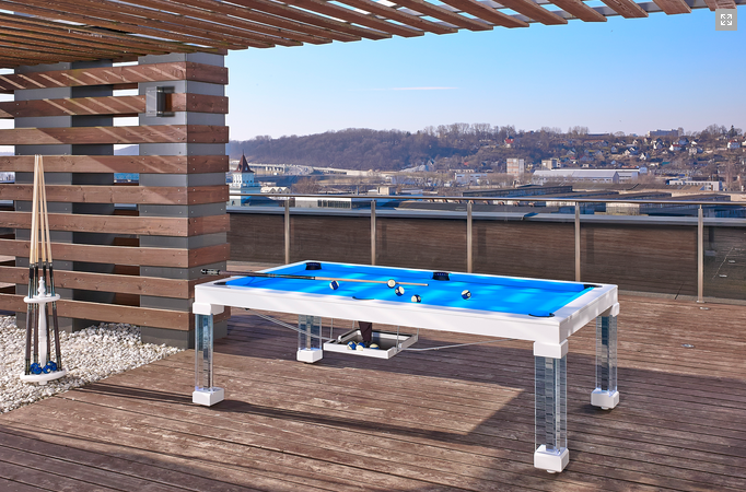 Outdoor Dining Pool Tables