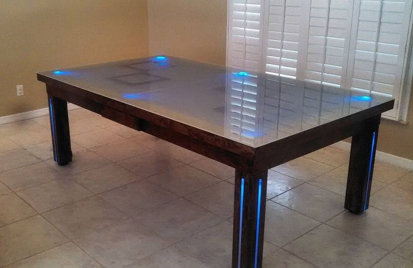 Convertible Pool Tables Dining Room Pool Tables By Generation Chic - Outdoor convertible pool table