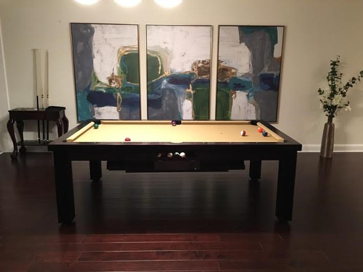 Superb Elegant Pool Table