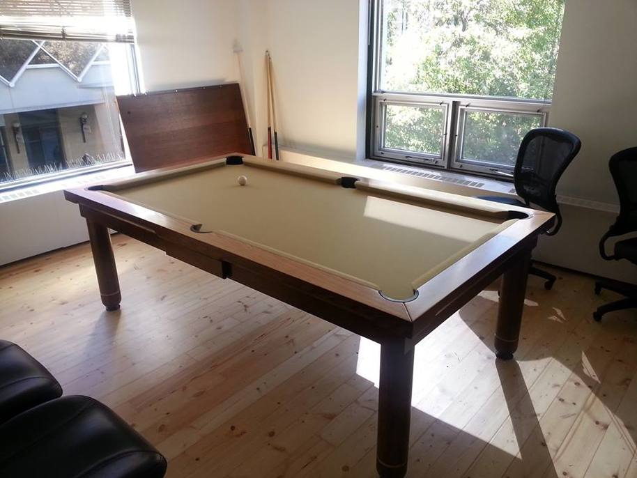 Dining Room Conversion Pool Table
