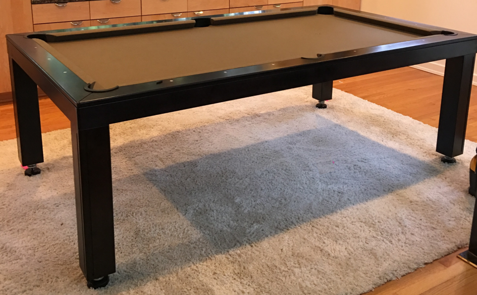 Black Pool Tables