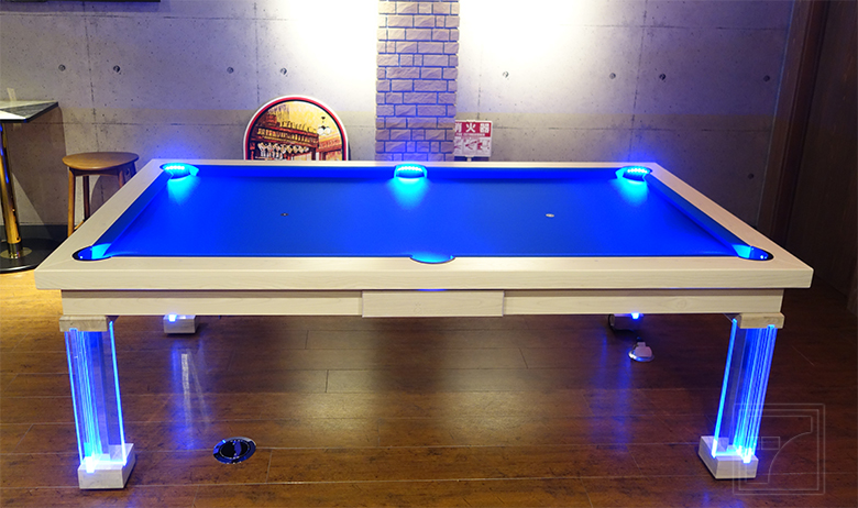 Neon Pool Table. Neon Pool Table. Convertible Dining Room Pool Table Part 69