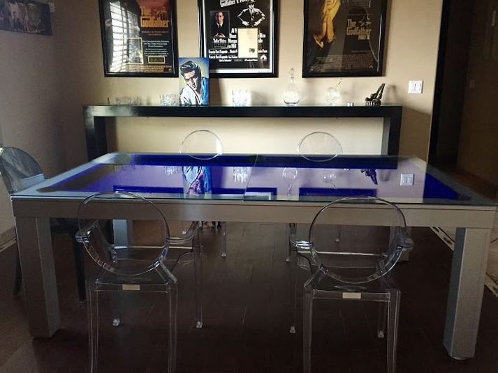 Conversion Pool Tables Luxury Dining