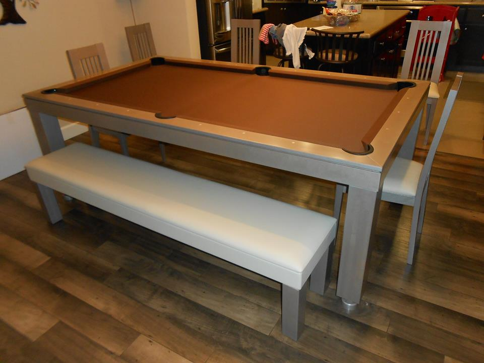 Colors Convertible Pool Tables - Dining Room Pool Tables by ...