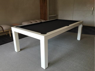 Dining Room Pool Table Blue
