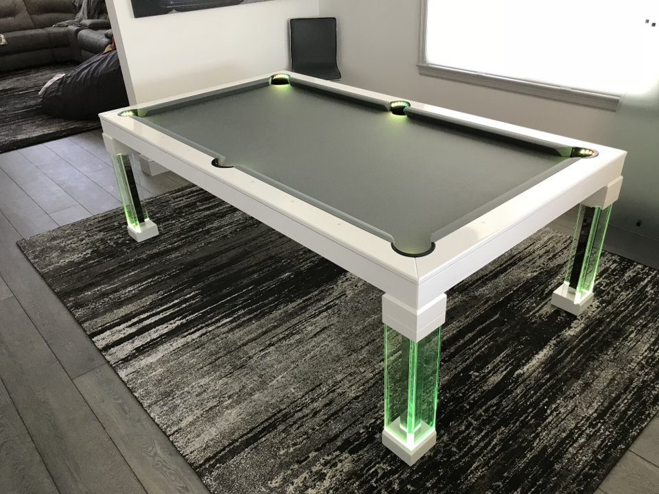 Dining Room Pool Tables By Generation Chic Pool Dining Room Pool - How much room is needed for a pool table