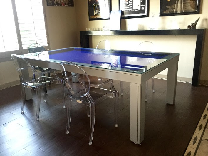 GREY SILVER Pool Tables