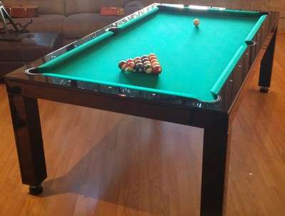 Piano Gloss Dining Room Pool Table