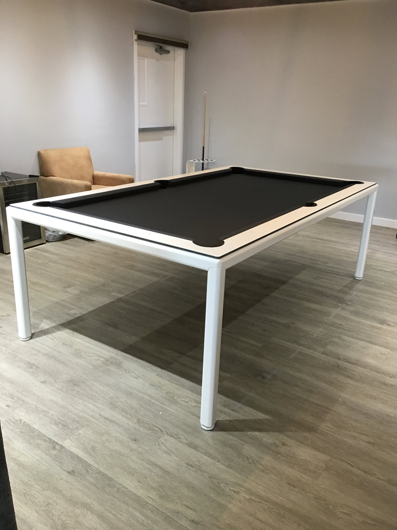 Minimal Dining Room Pool Table