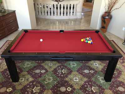 ELEGANT Dining Pool Table