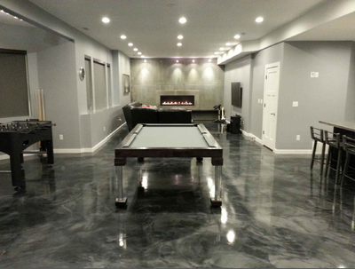 Dining Pool Table in Black.