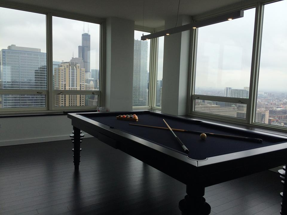 CONTEMPORARY Dining Pool Table