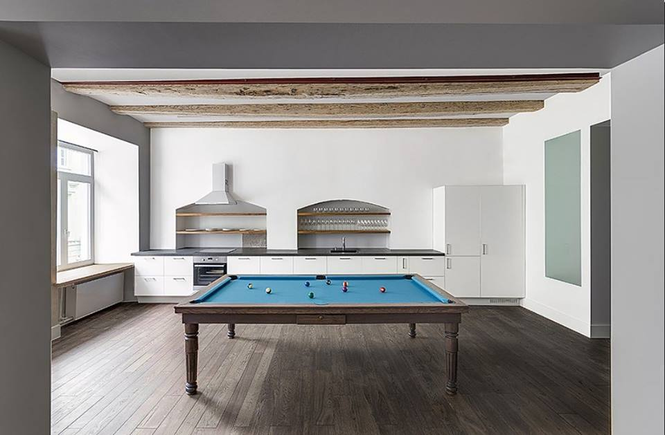 HARLYN Dining Pool Table