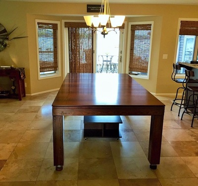 Pool Table Dining Tables