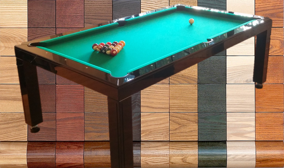 Dining Room Pool Tables paint stain