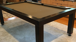 Modern Dining Room Pool Table