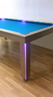 Neon Remote Control Dining Room Pool Table