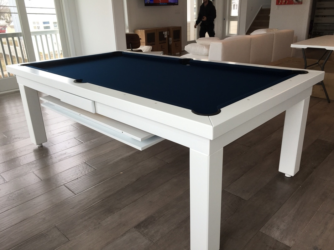 Conversion Pool Table Dining Table