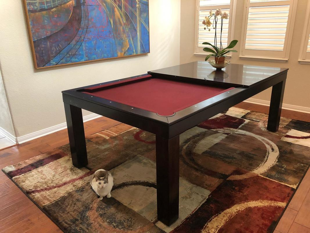 Elegant Convertible Pool Table