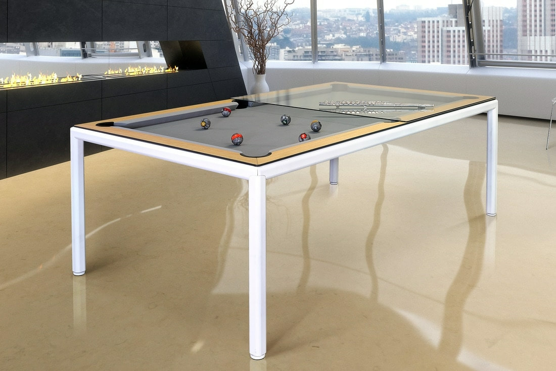 Thin Luxury Pool Dining Table